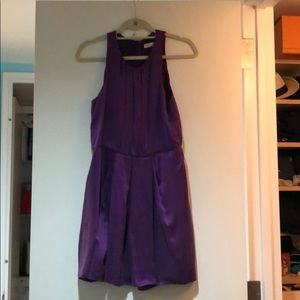 Rebecca Taylor Purple Cocktail Dress